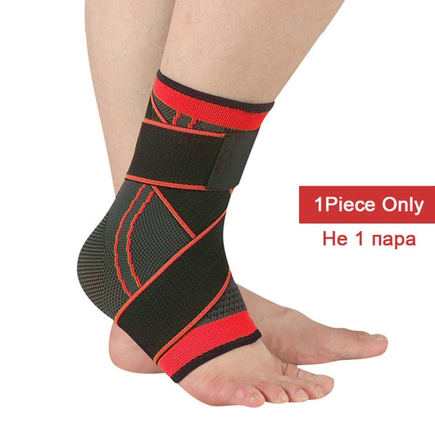 Ankle Brace Protector with Strap Belt Elastic