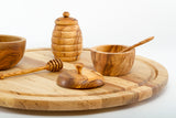 olive wood kitchen tools and utensils