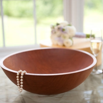 Wooden Bowl Wedding Present