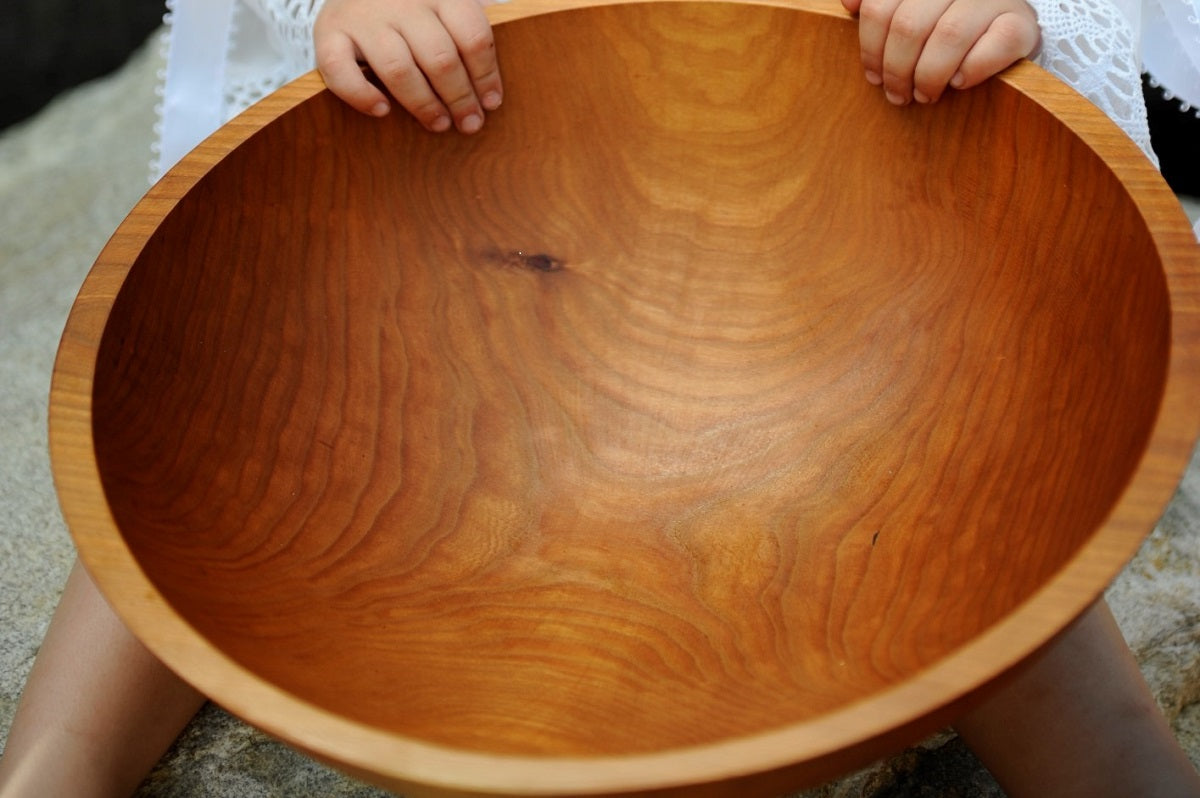 15 cherry salad bowl free servers with set new hampshire bowl and board - Wooden Salad Bowl Set