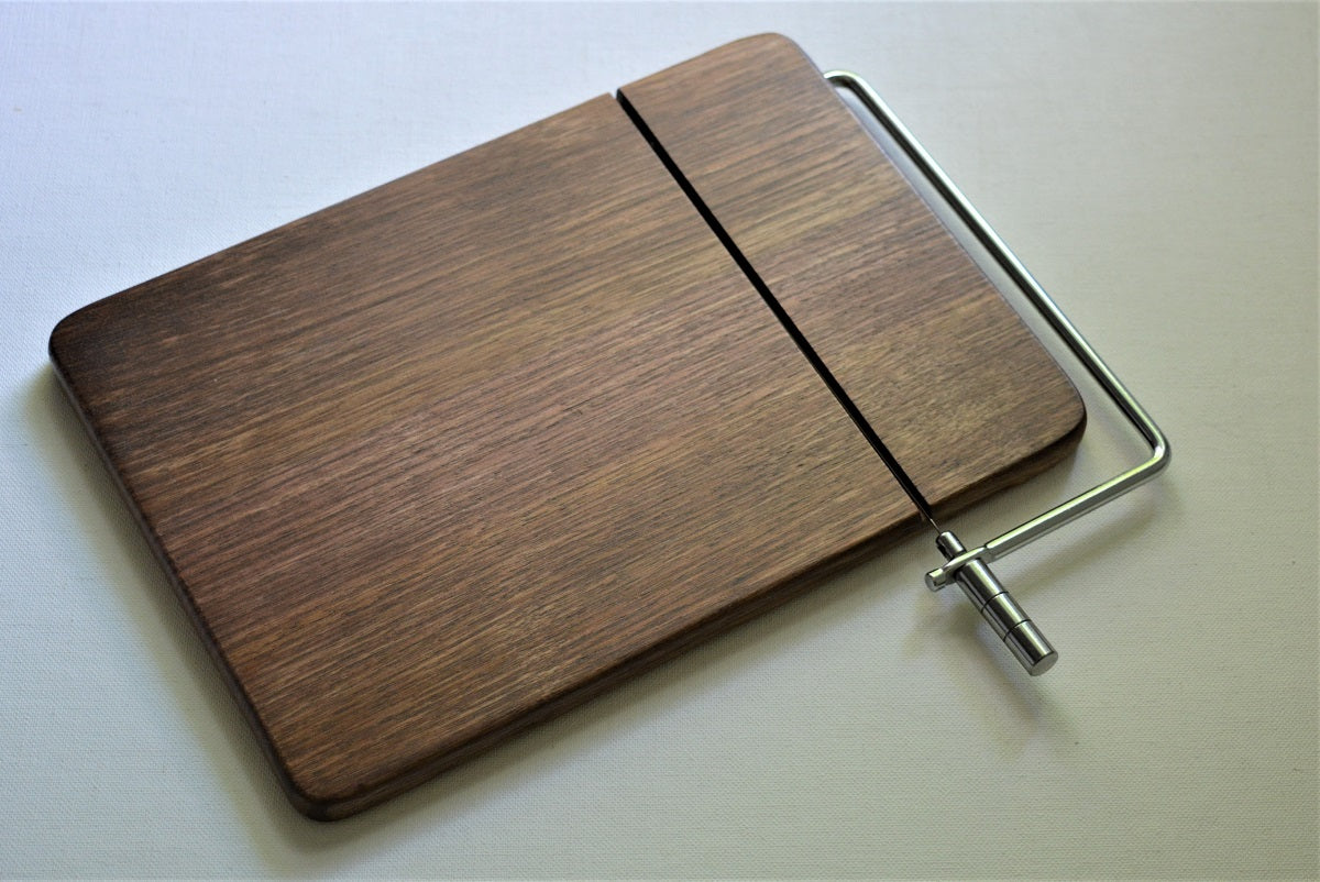Wood Cheese Board With Wire Cutter New Hampshire Bowl And Board