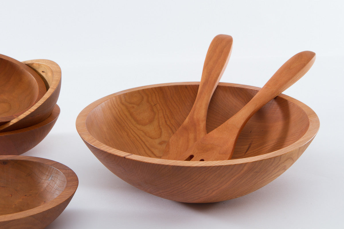 Best Large Wood Salad Bowl 17 Quot Serves 20 Nh Bowl And
