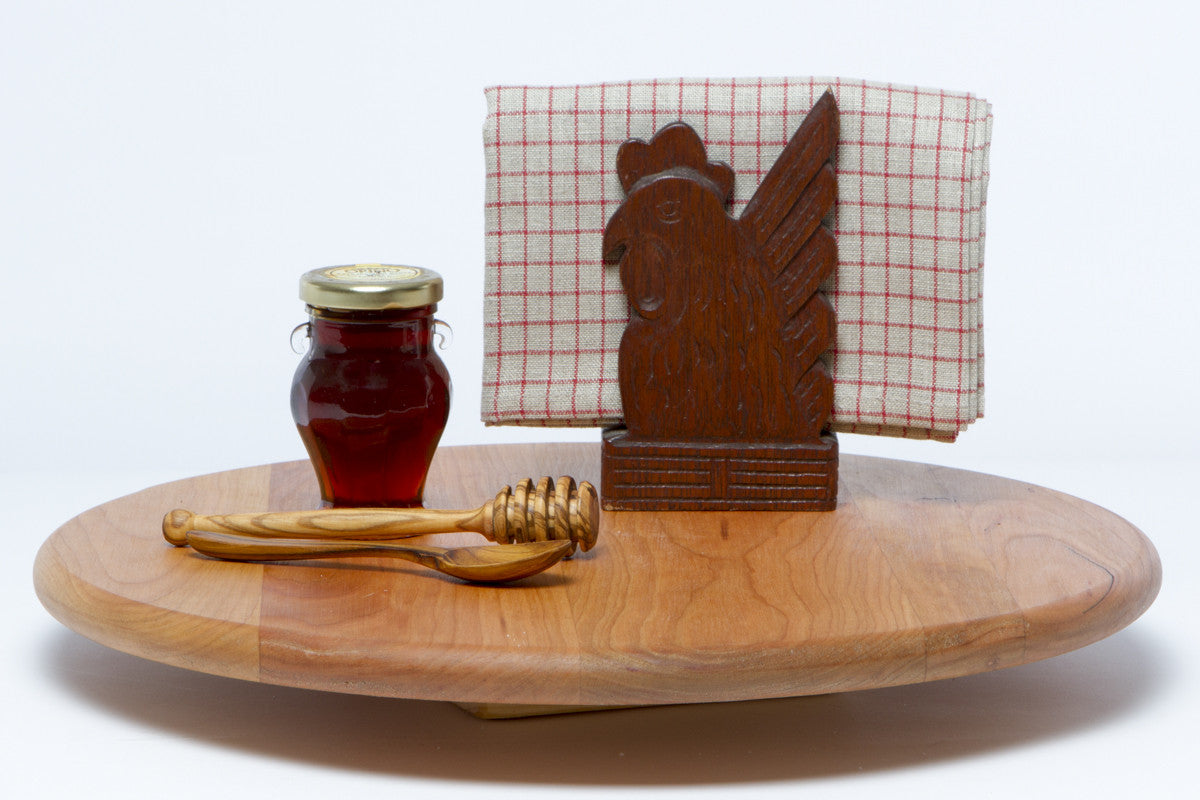 Handmade Lazy Susan in Cherry to