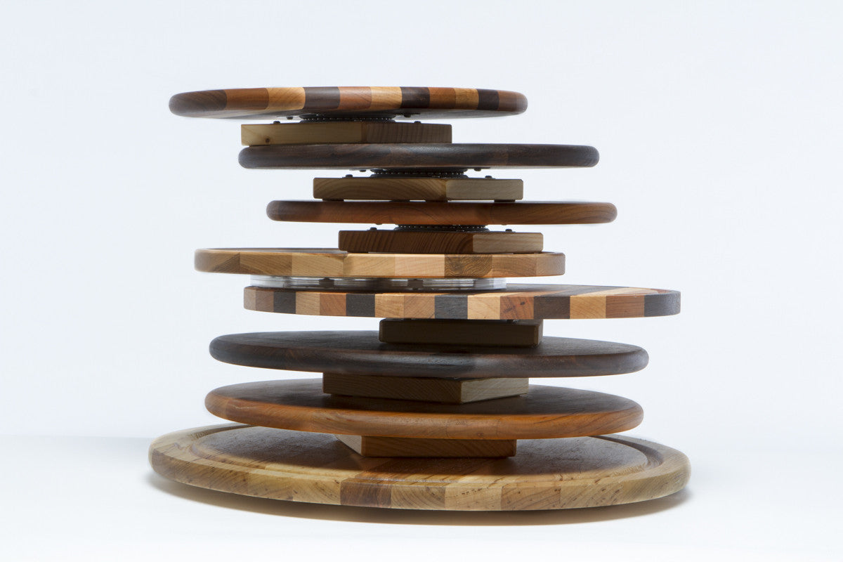 wooden lazy susan made in the usa