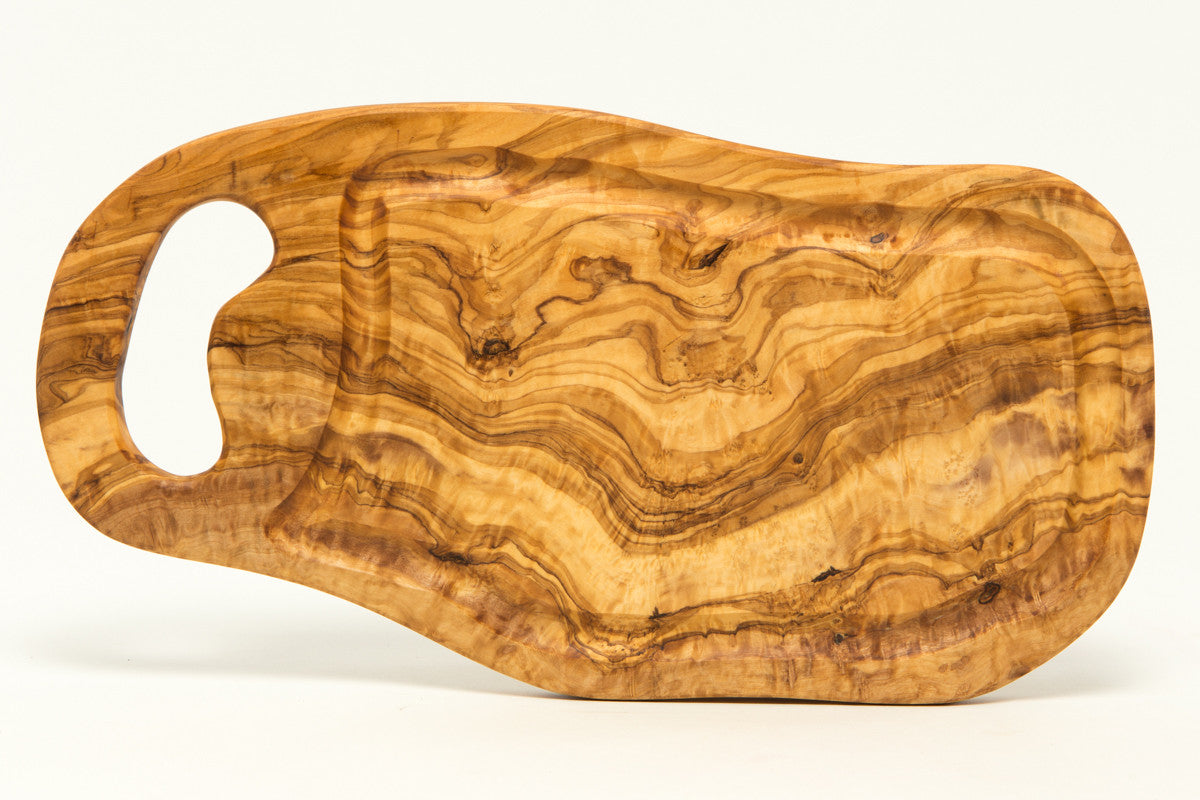 olive wood hand made cheese board wood cutting board with handle, Kitchen design