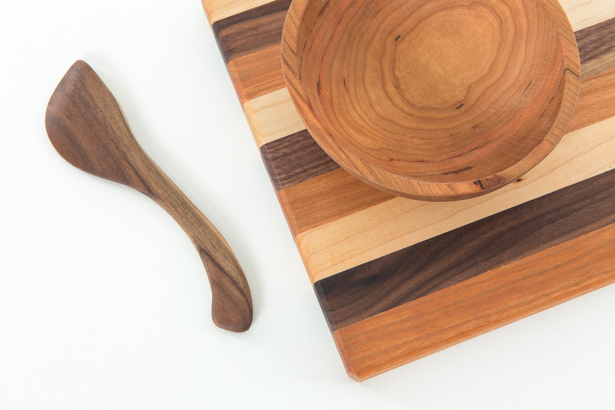 ... Cheese Board And Nosh Bowl ... Free Spreader | New Hampshire Bowl And  Board ...
