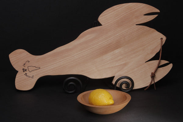 Maine Lobster Wood Cutting Board Nh Bowl And Board New