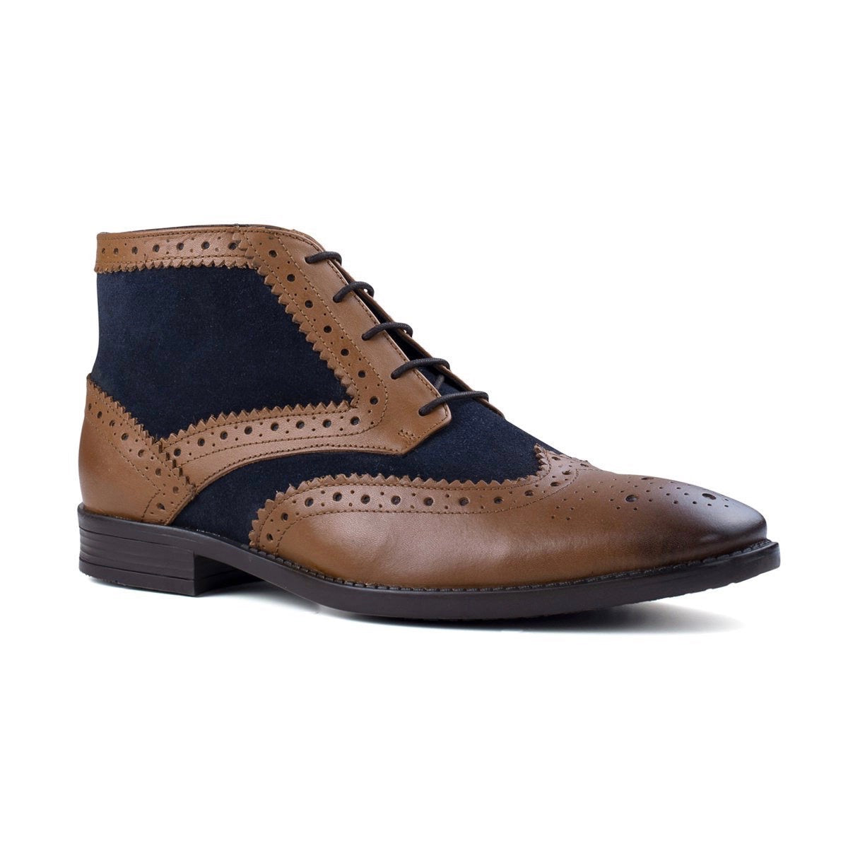 Alfred Tan & Navy footwear