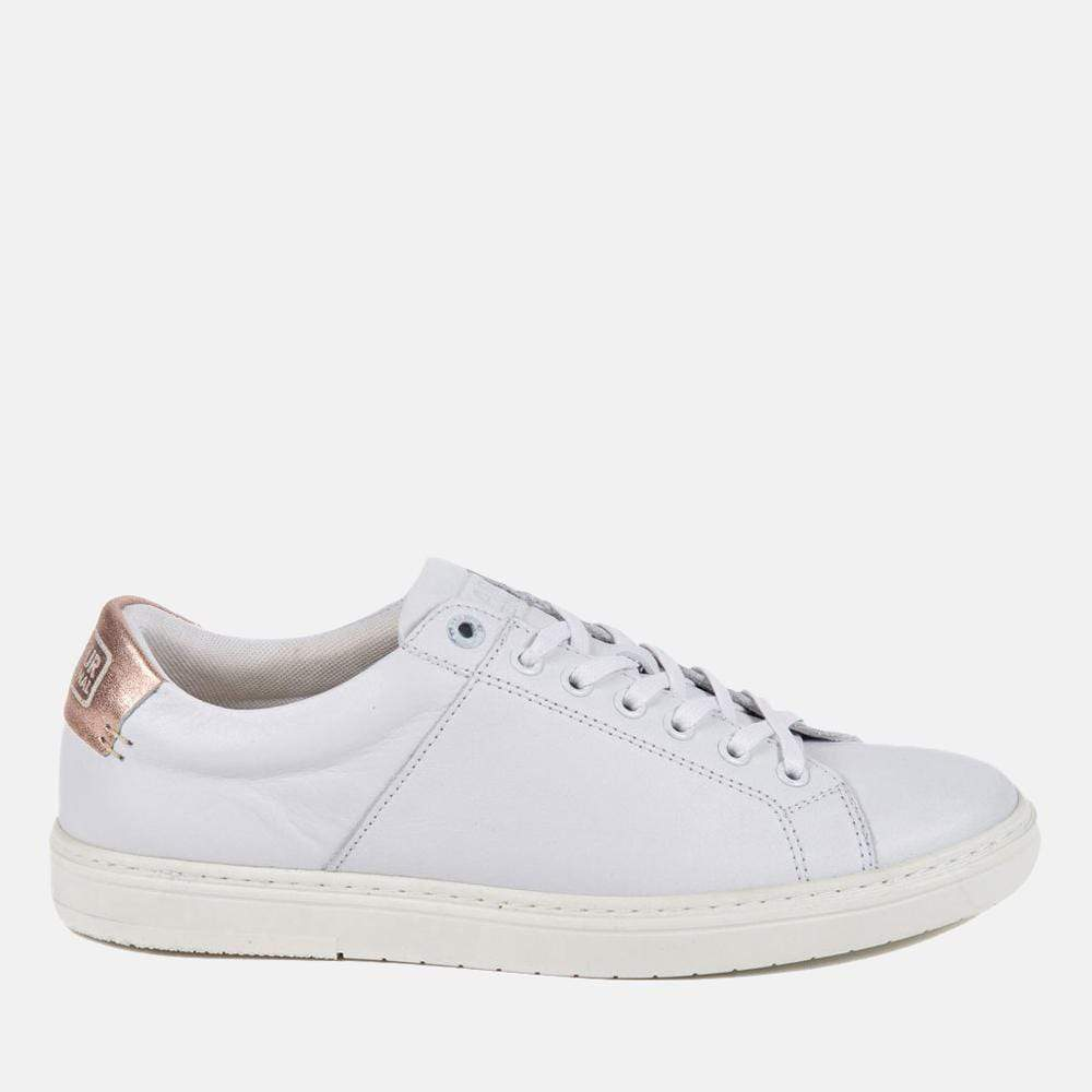 Barbour Footwear Barbour International Herrera White/Rose Gold