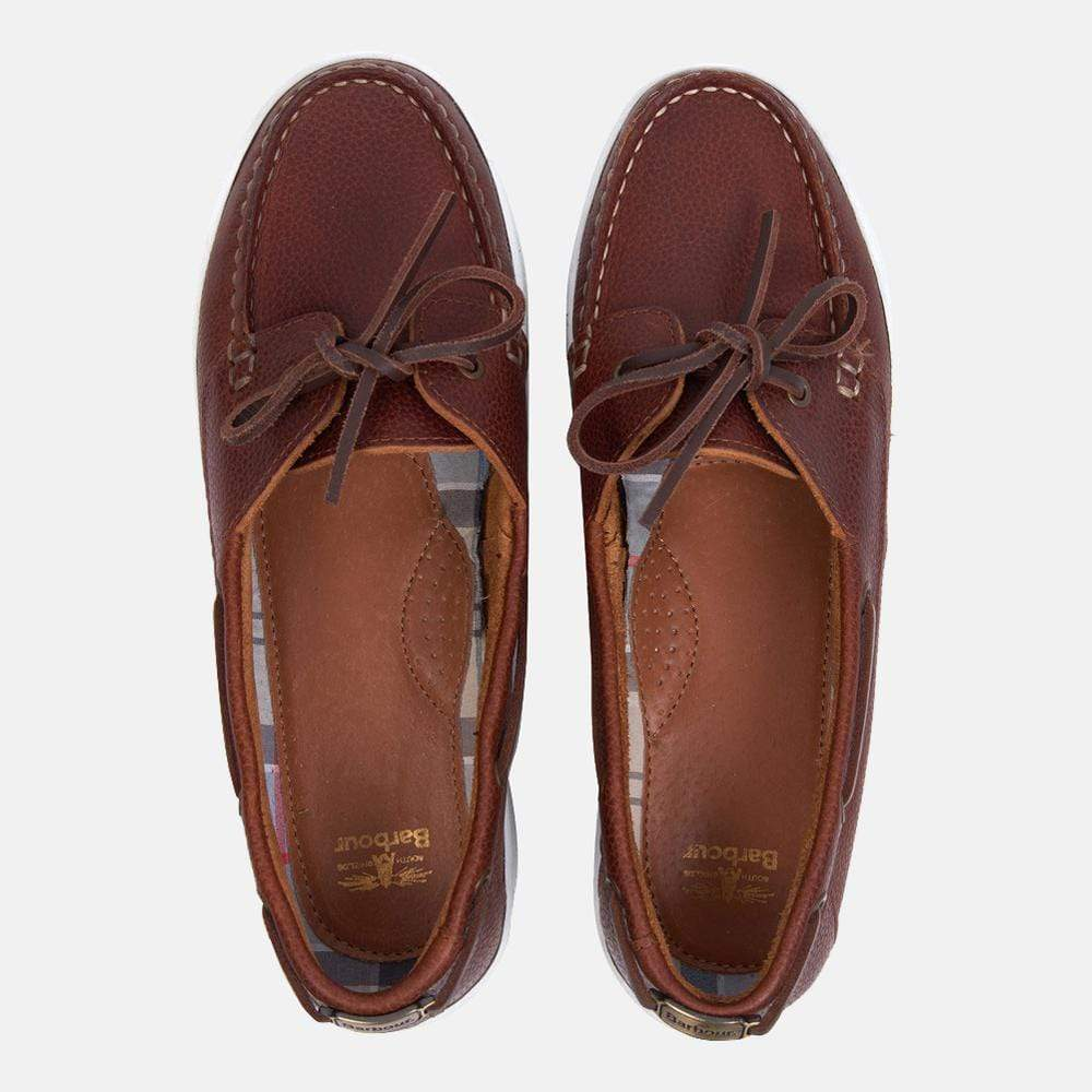 Barbour Footwear Miranda Cognac Leather