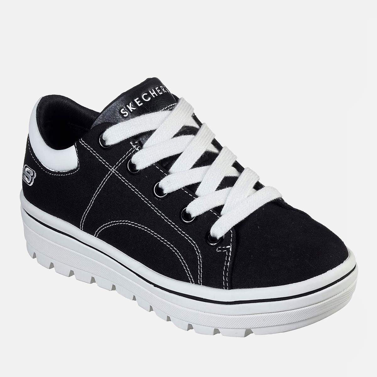 Bells Shoes Skechers Footwear Street Cleat Bring It Back 74100 Black