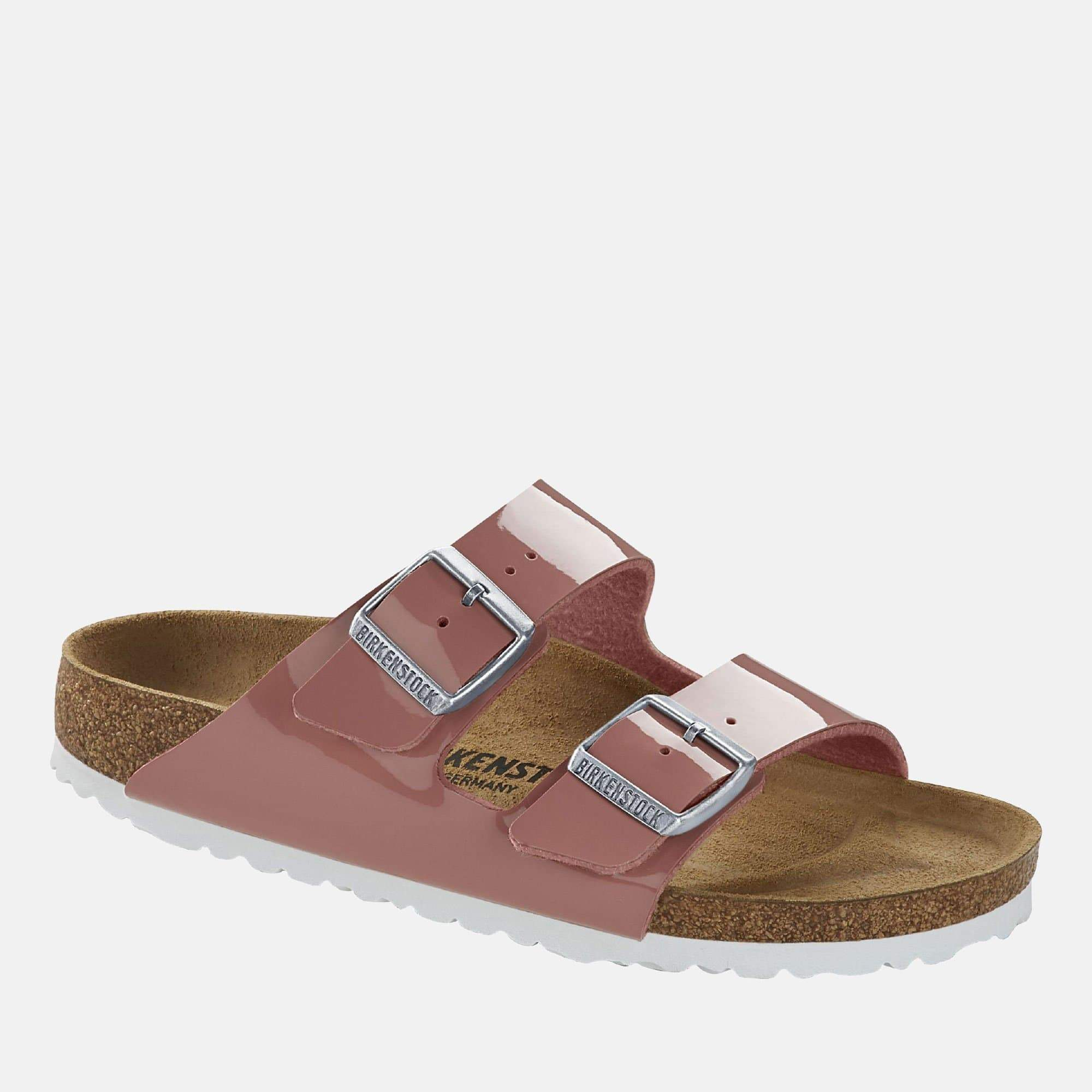 Birkenstock Footwear Arizona Narrow Fit Patent Old Rose 1016071