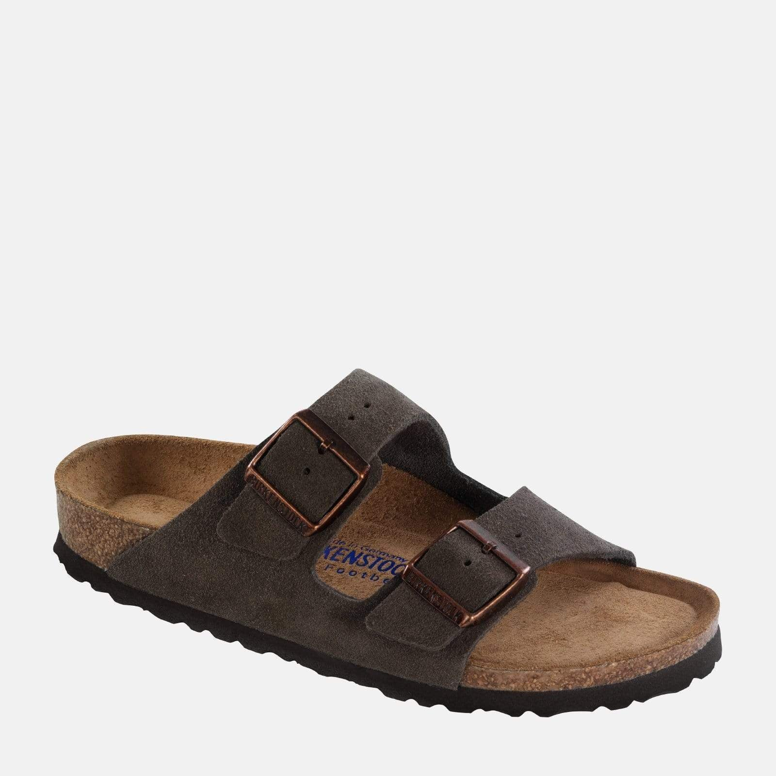 Birkenstock Footwear Arizona Soft Footbed Narrow Fit Mocha Suede 951313