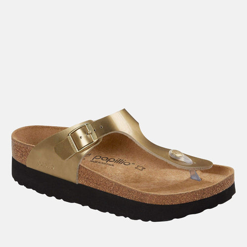 Gizeh Platform Regular Fit Metallic Gold 1015875