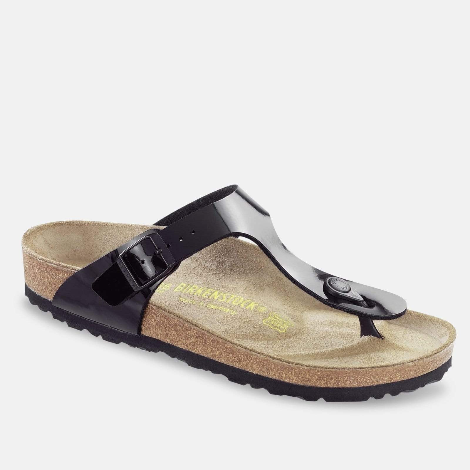 Birkenstock Footwear Gizeh Regular Fit Black Patent 043661