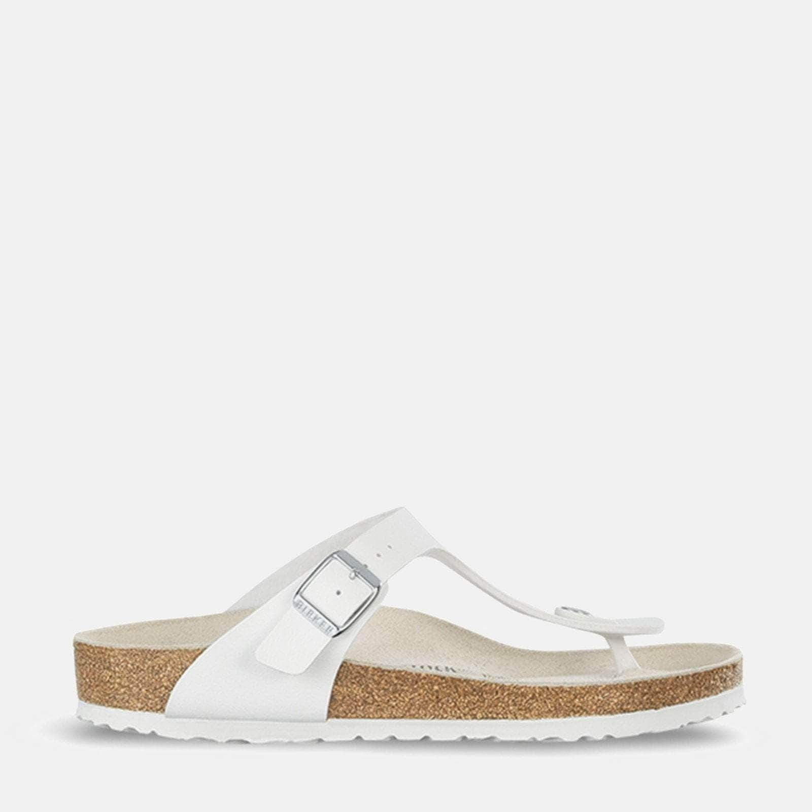 Birkenstock Footwear Gizeh Regular Fit White 043731