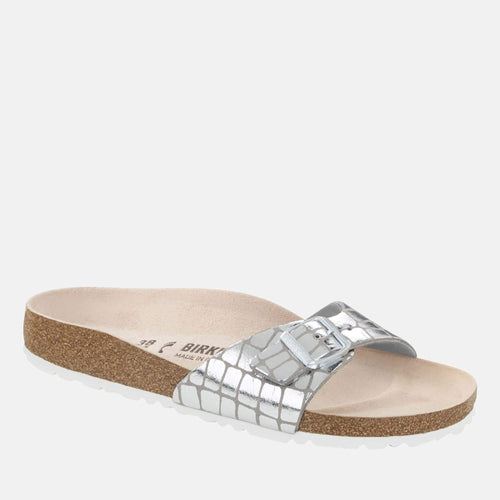Madrid Regular Fit Gator Gleam Silver 1016244