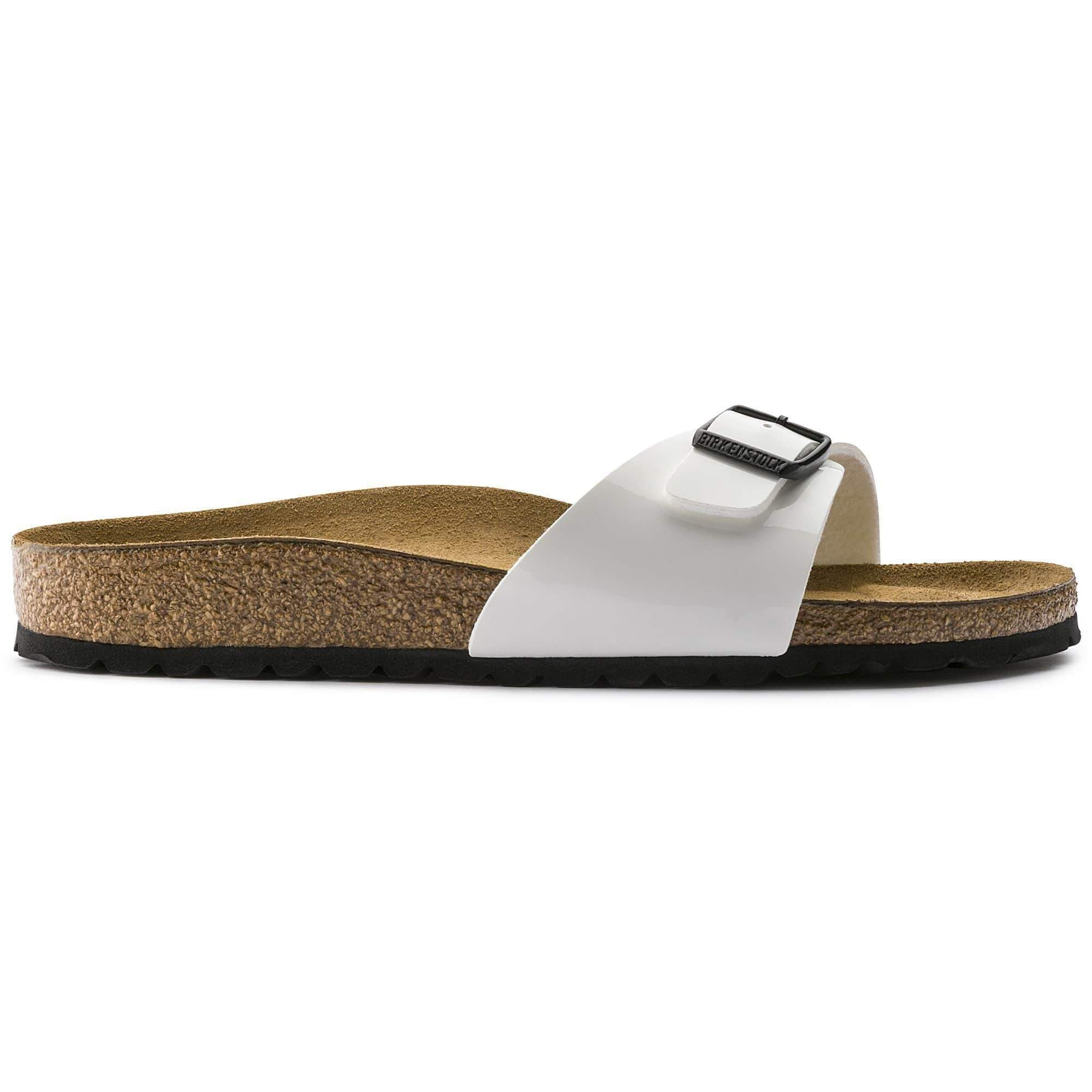 Birkenstock Footwear Madrid Regular Fit White Patent 240861