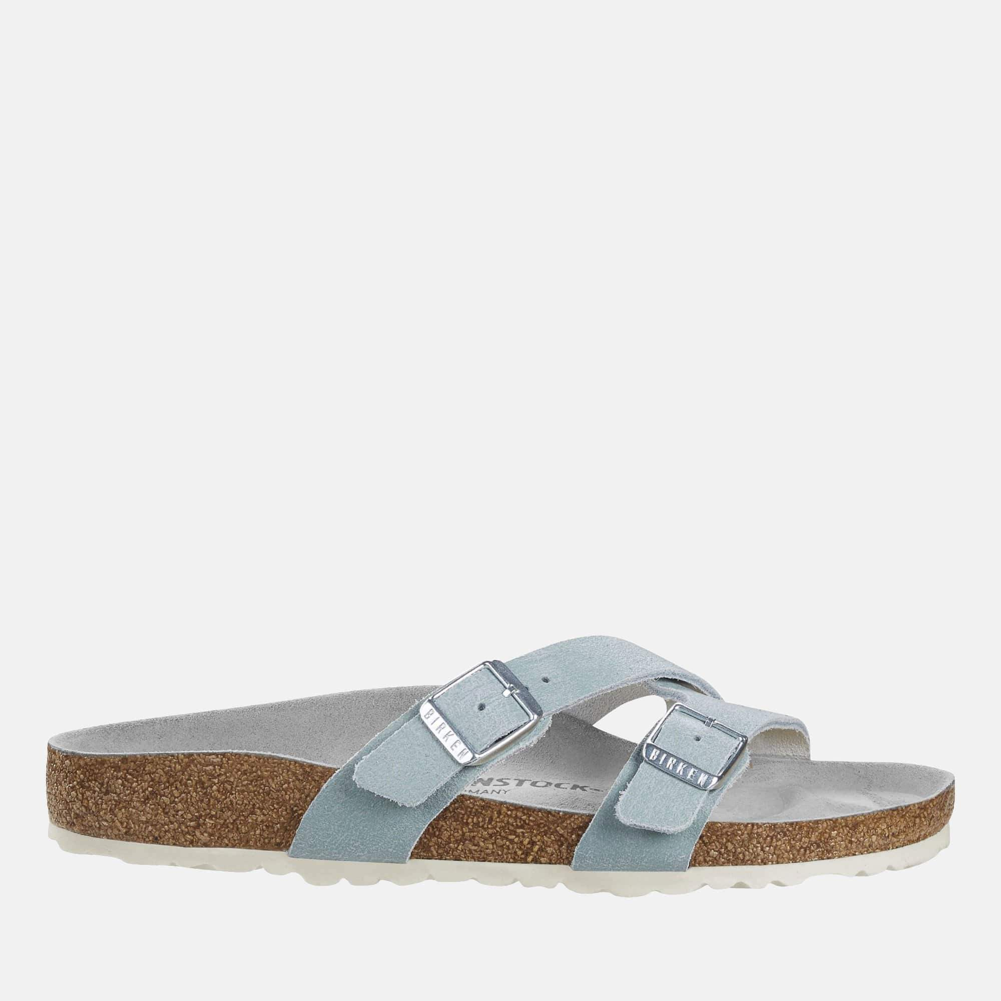 Birkenstock Footwear Yao Balance Regular Fit Washed Metallic Mineral 1015855