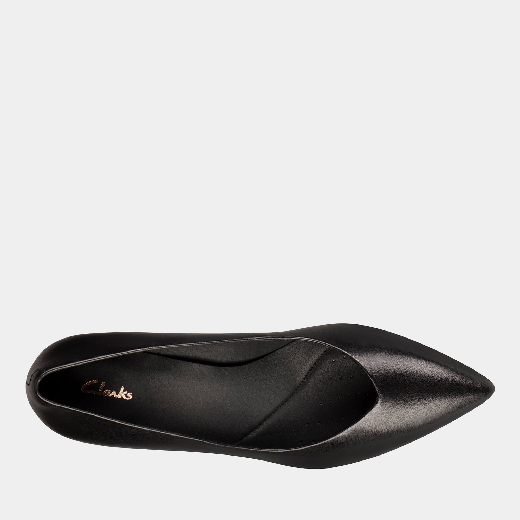 Clarks Footwear Laina55 Court2 26151380 Black