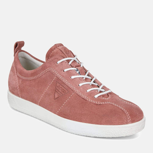 Soft 1 W 400503 05236 Petal - Ecco Rose Soft Leather Ladies Trainers
