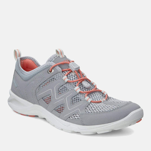 Terracruise LT 825773 59105  Silver Grey Silver Metallic - Ecco Ladies sliver Sports Trainers