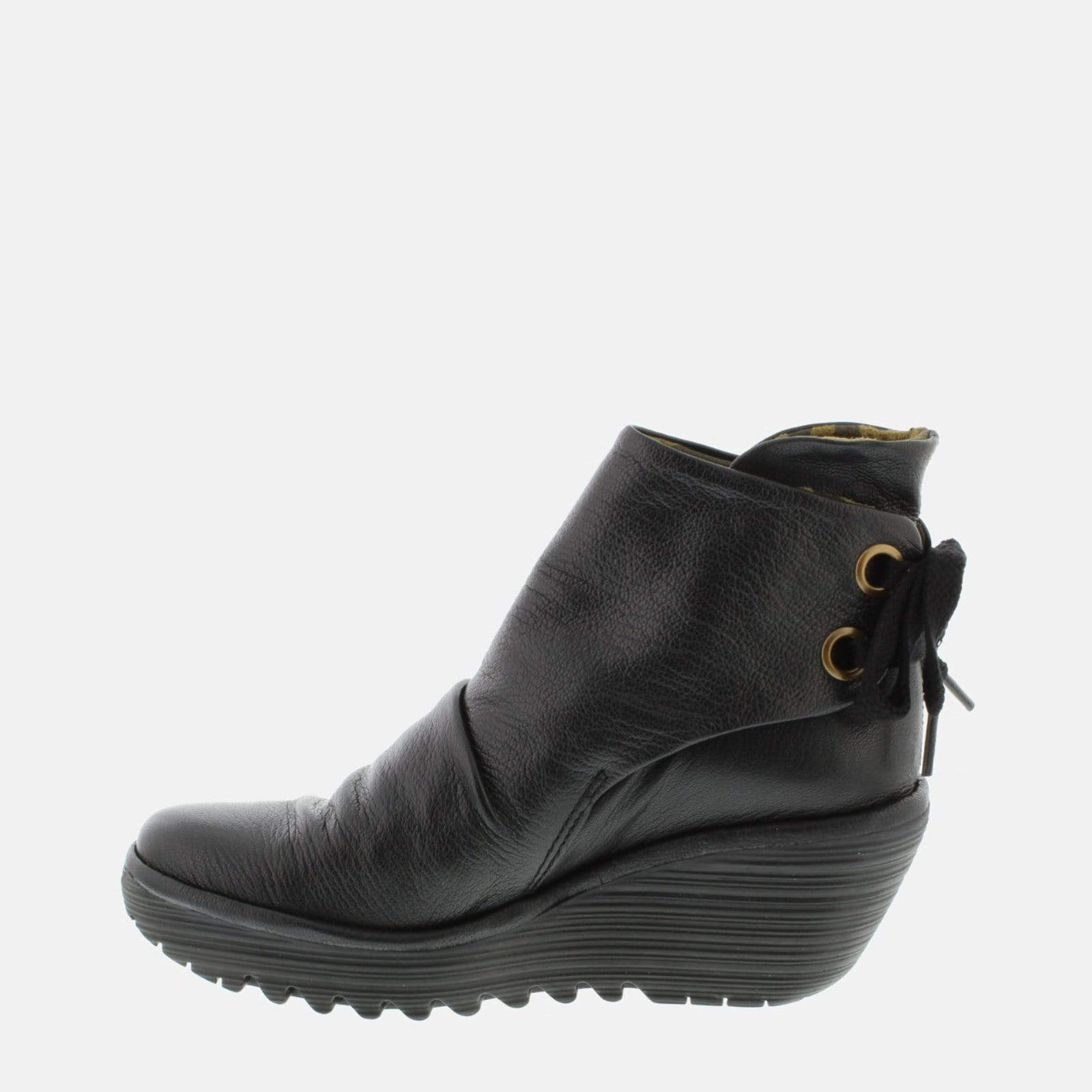 Fly London Footwear Yama Black Mousse