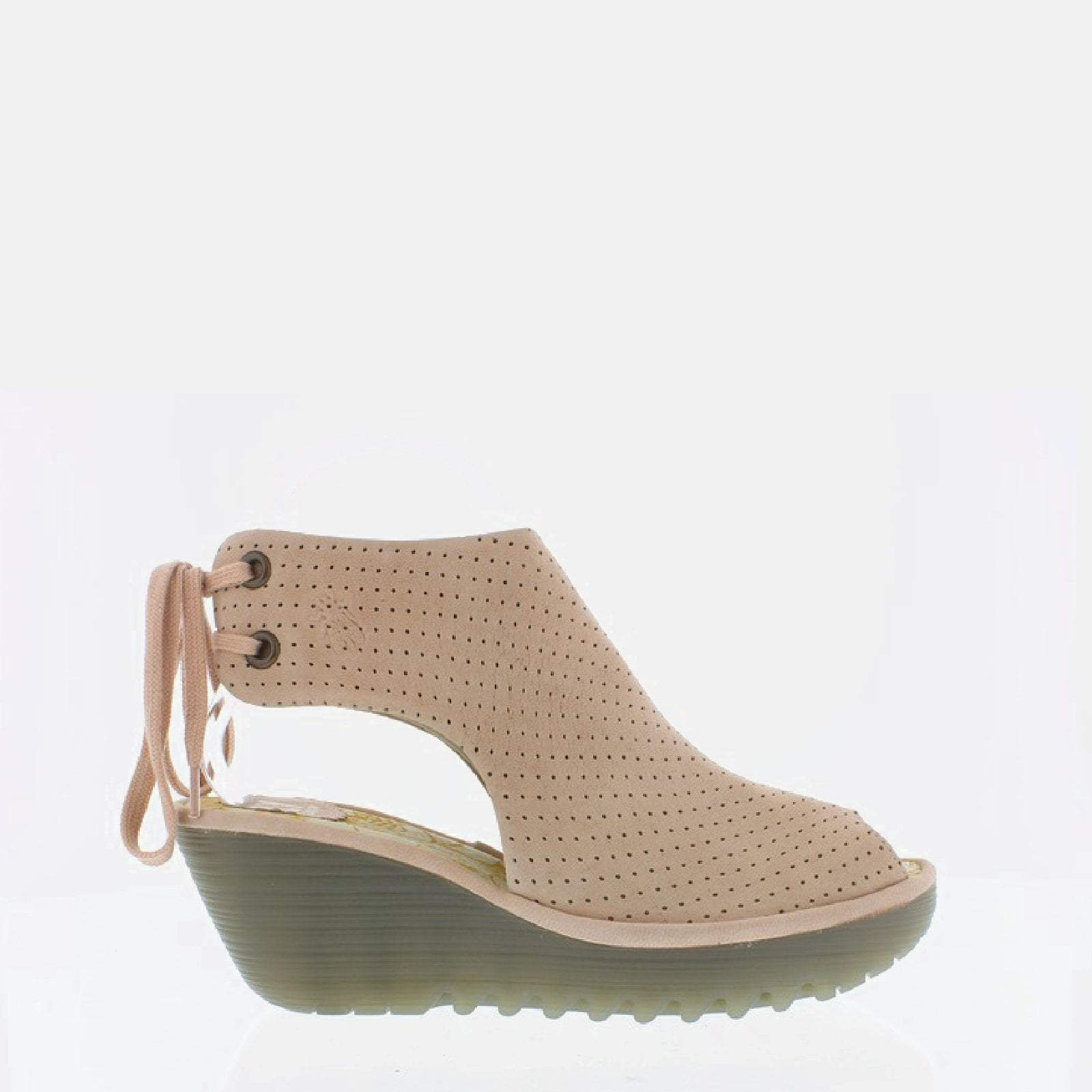 Fly London Footwear Ypul Nude Pink Cupido