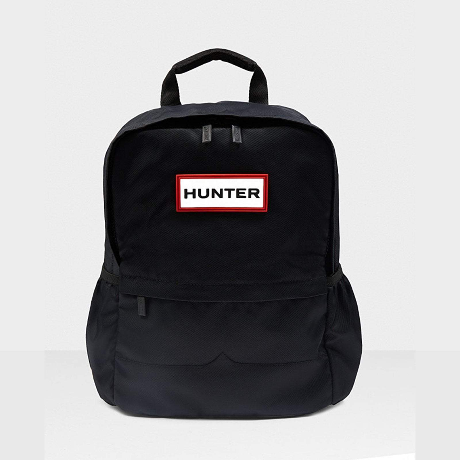 Hunter Accessories ONE / BLACK Original Nylon Backpack Black