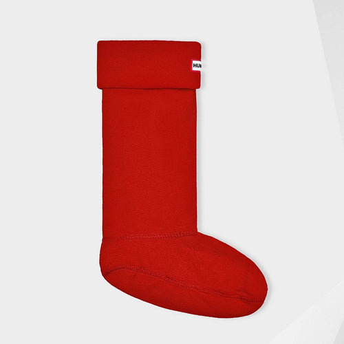Unisex Tall Boot Socks Military Red
