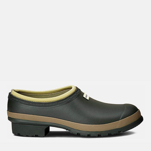 Mens Gardener Clog Dark Olive/Clay