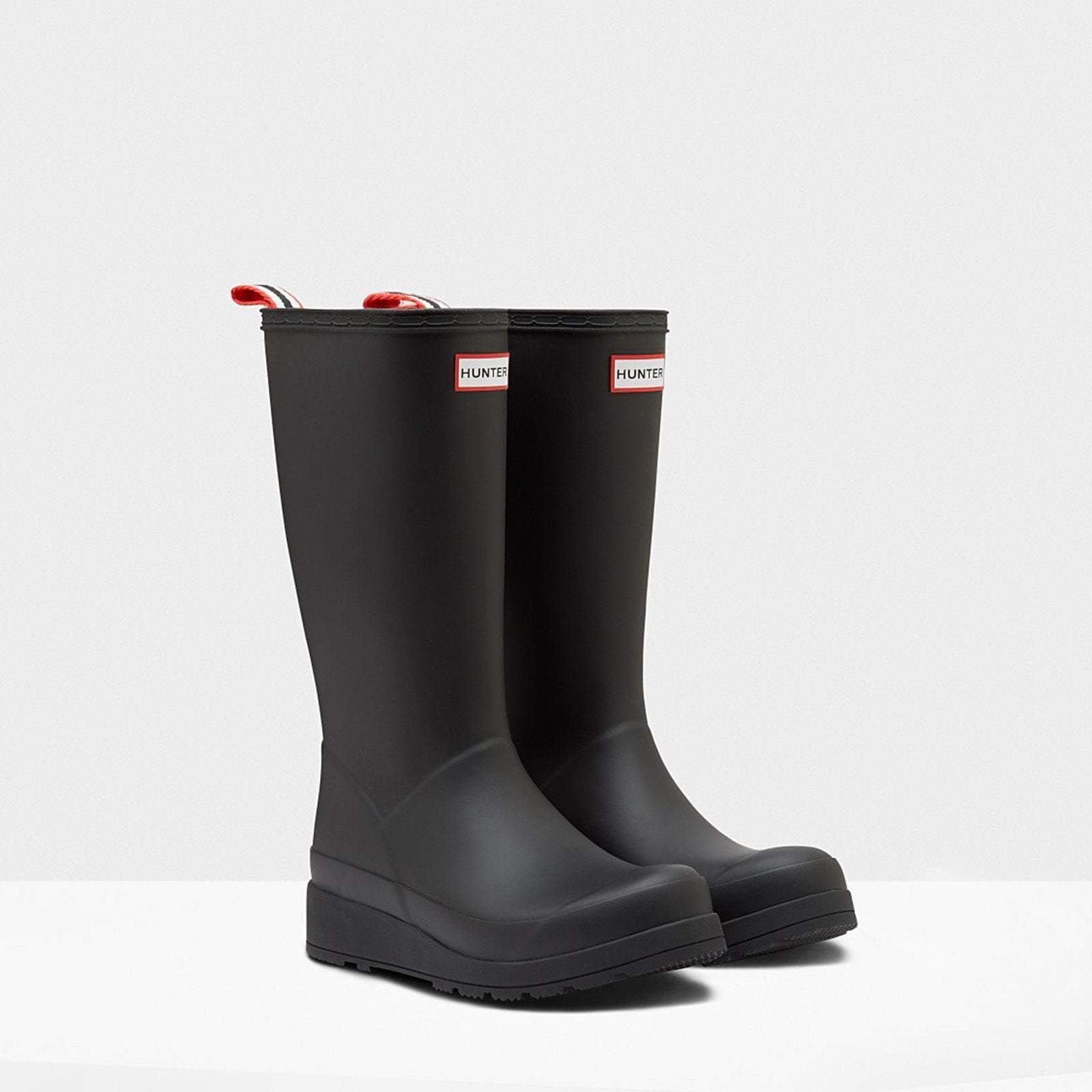 Hunter Footwear Original Play Tall Wellington Boots Black