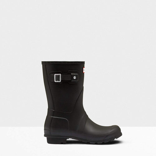 Women's Original Short Wellington Boots Black