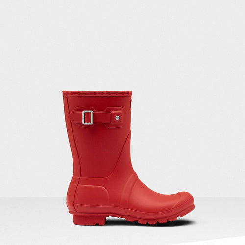 Women's Original Short Wellington Boots Military Red