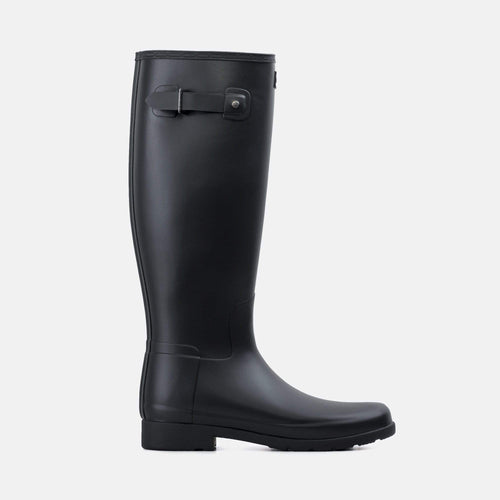 Womens Original Refined Wide Fit Boot Matte Black