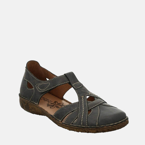 Rosalie 29 Jeans - Josef Seibel  Blue Leather Ladies Sandal