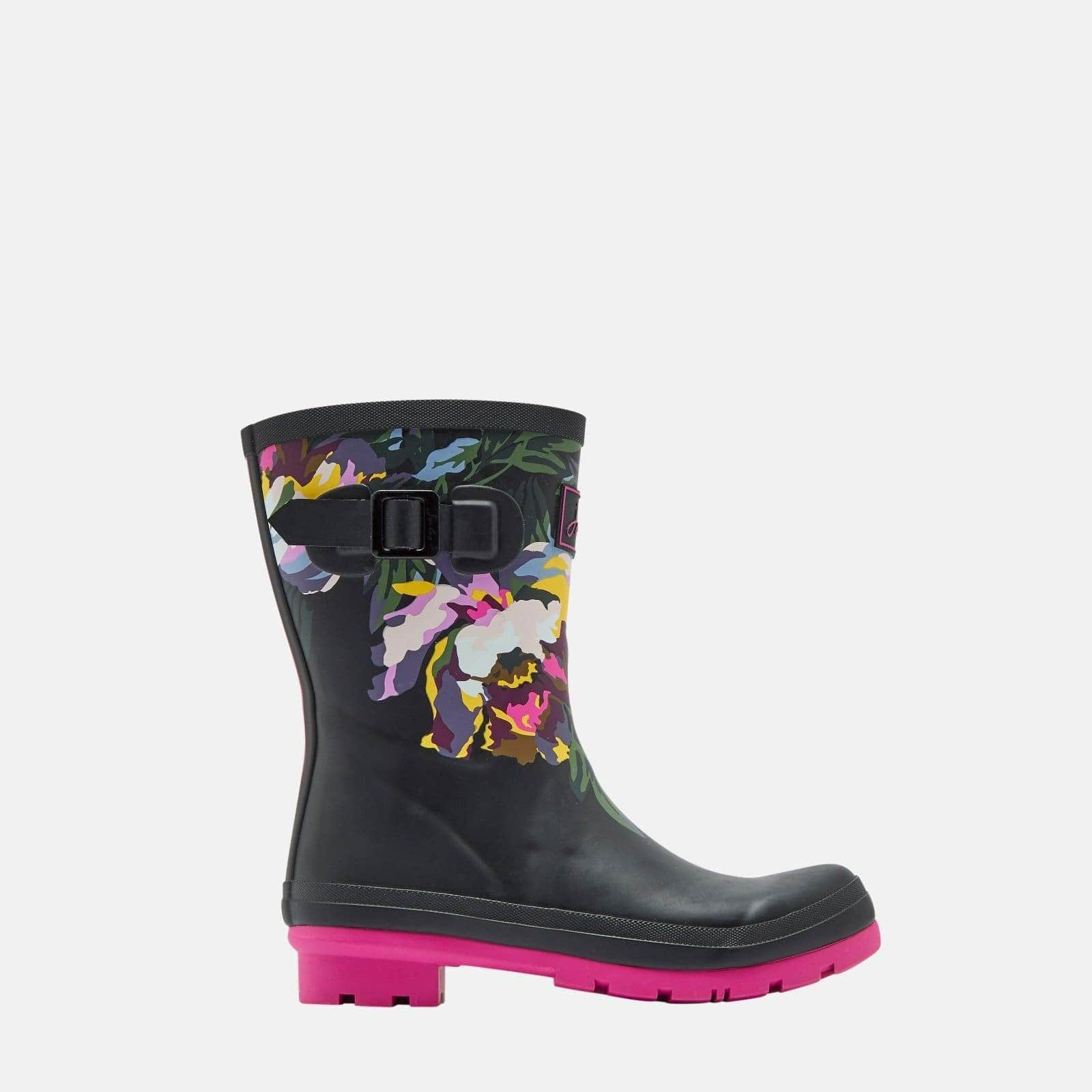 Joules Footwear Molly Welly Cambridge Anniversary Floral