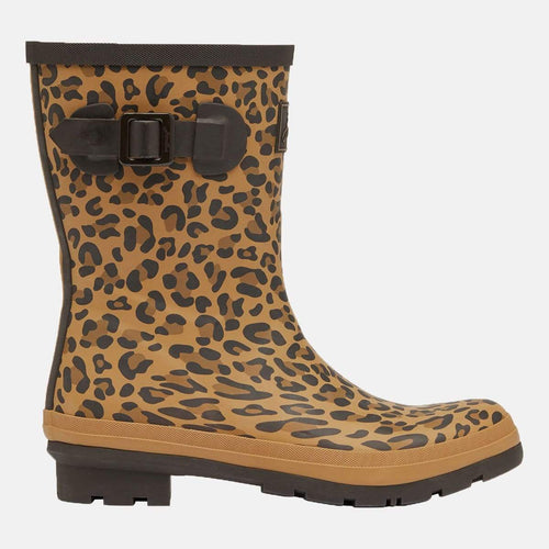 Molly Welly Tan Leopard