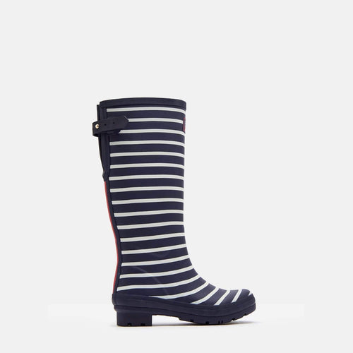 Welly Print French Navy Stripe