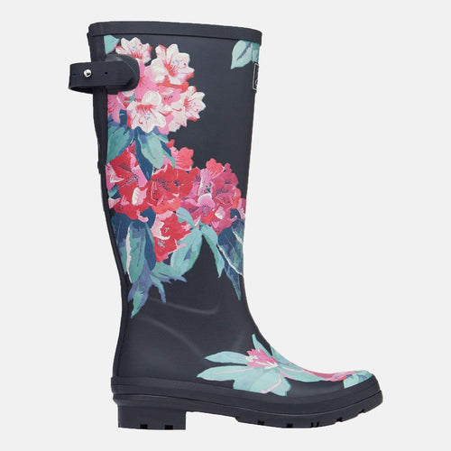 Welly Print Navy Floral