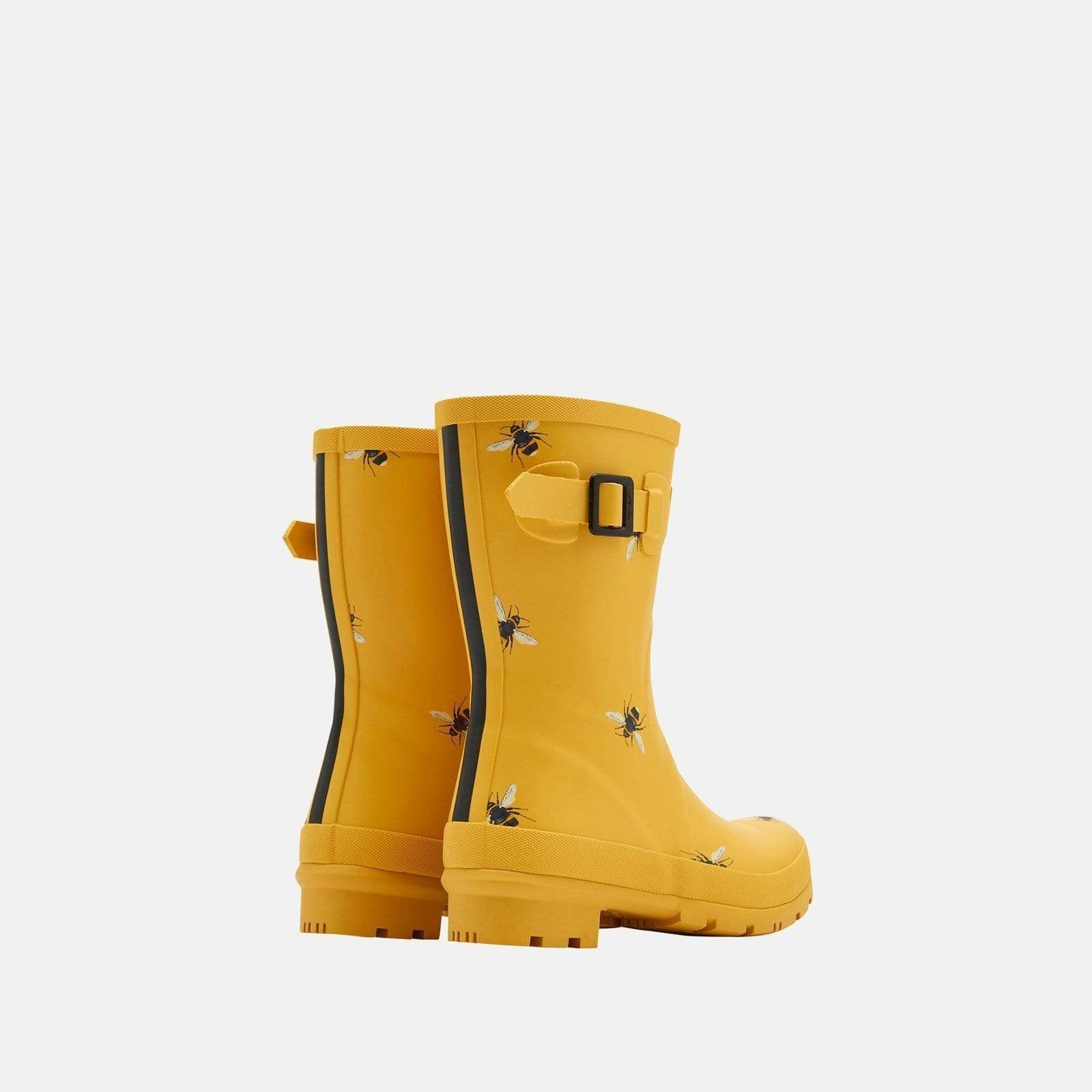 Joules Welly Molly Welly Gold Botantical Bees