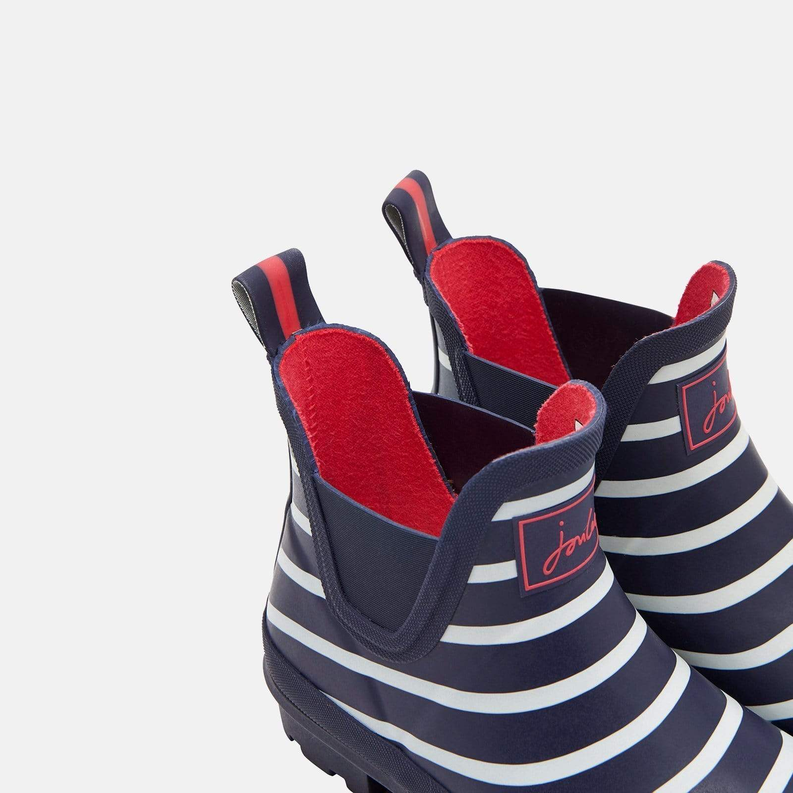 Joules Welly Wellibob French Navy Stripe