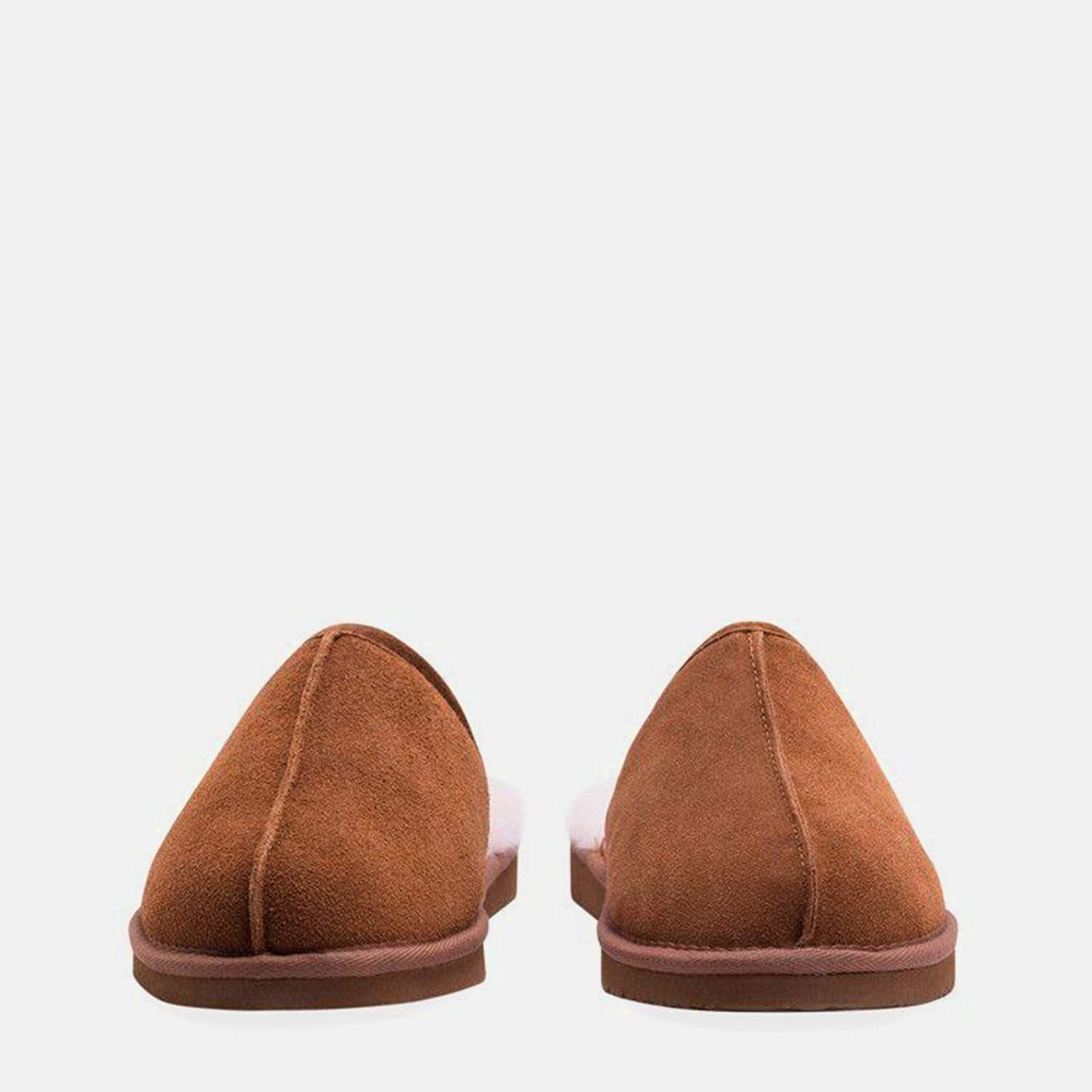 Redfoot Footwear ALLEN TAN SHEEPSKIN SLIPPERS PRE-ORDER