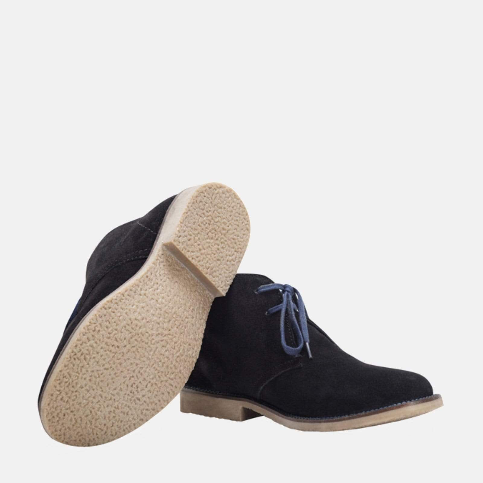 Redfoot Footwear ASHTON BLACK (blue laces)
