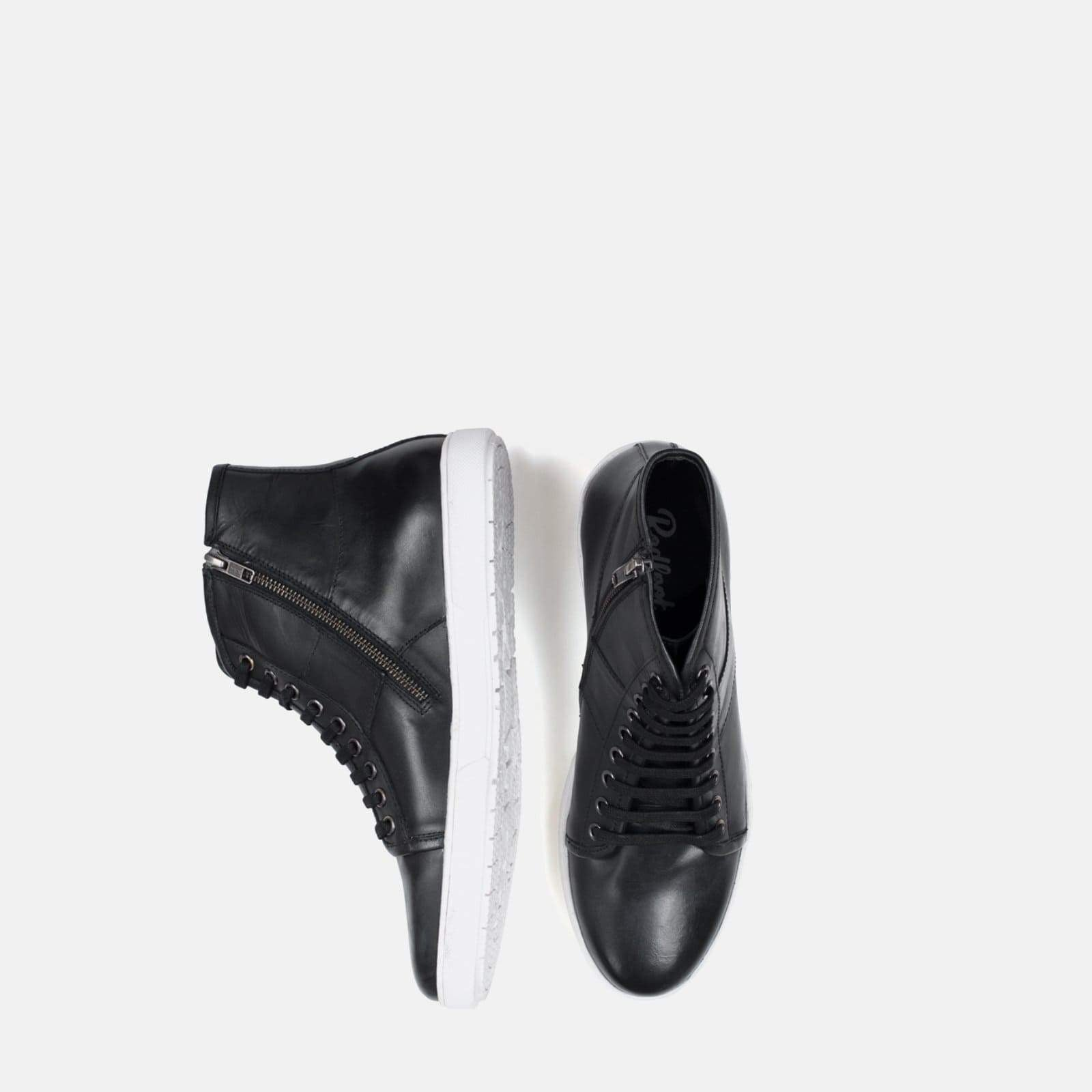 Redfoot Footwear BEN BLACK HIGH TOP