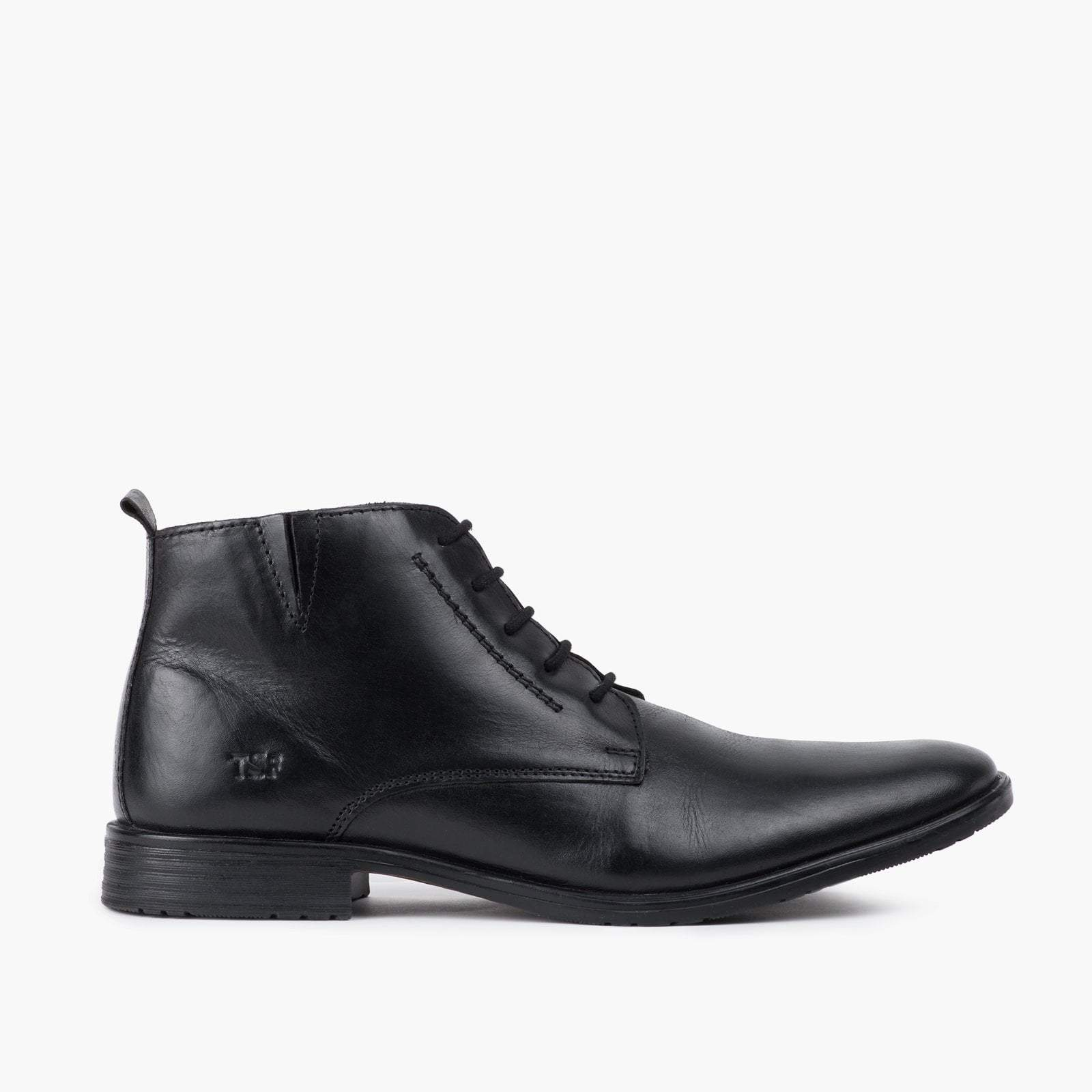 Redfoot Footwear UK 6 / EURO 39 / US 7 / Leather / Black Ernie Black Boot