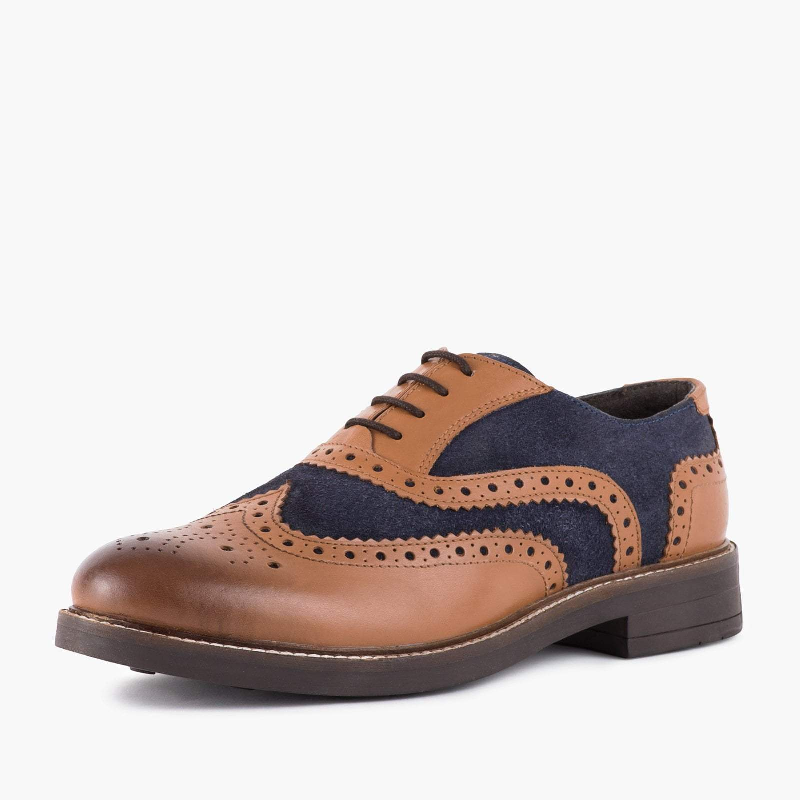 Redfoot Footwear UK 6 / EURO 39 / US 7 / Tan / Leather FLOYD TAN & NAVY
