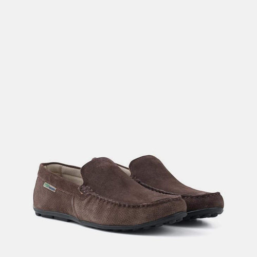 HANSA BROWN SUEDE LOAFER