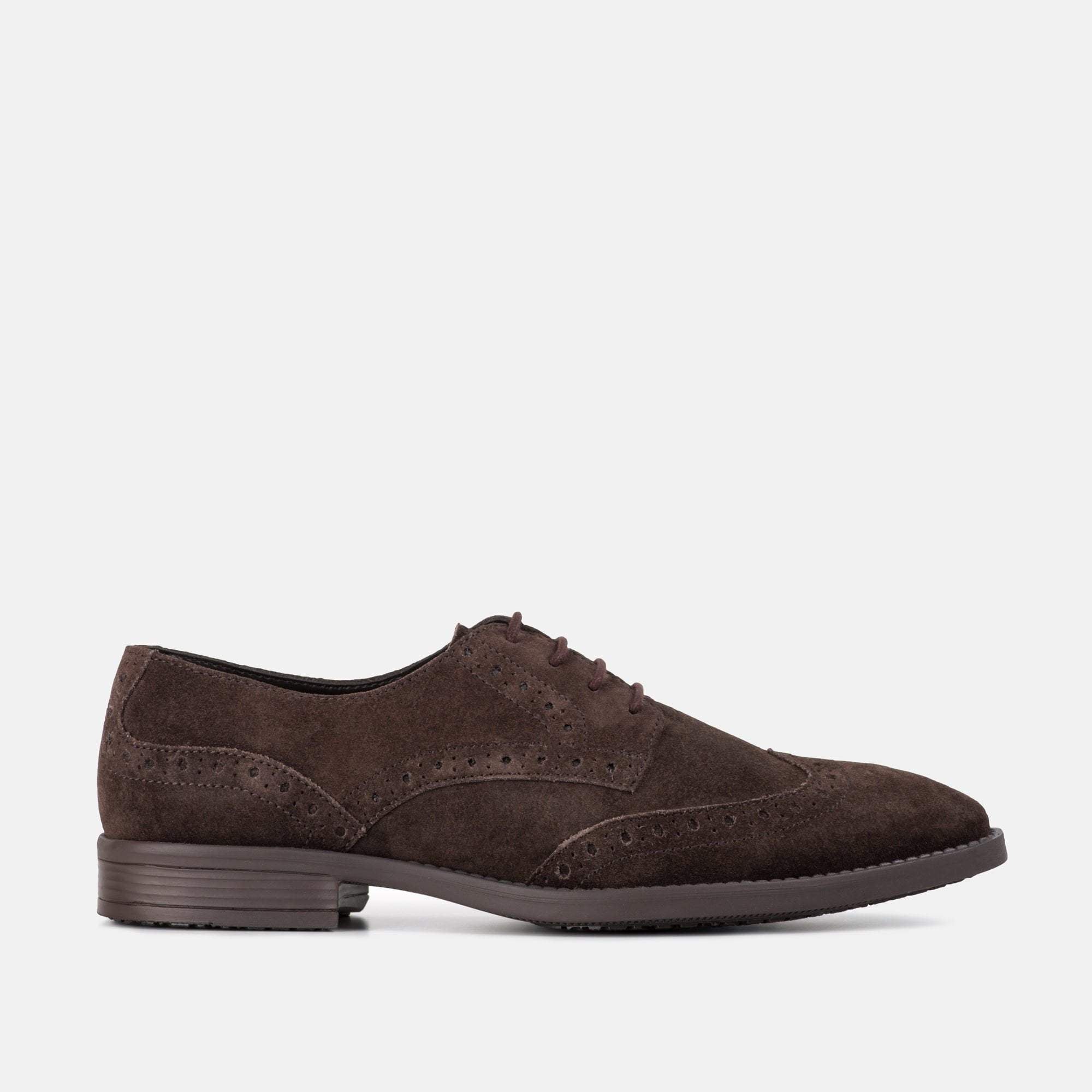 HARRIS BROWN SUEDE BROGUE
