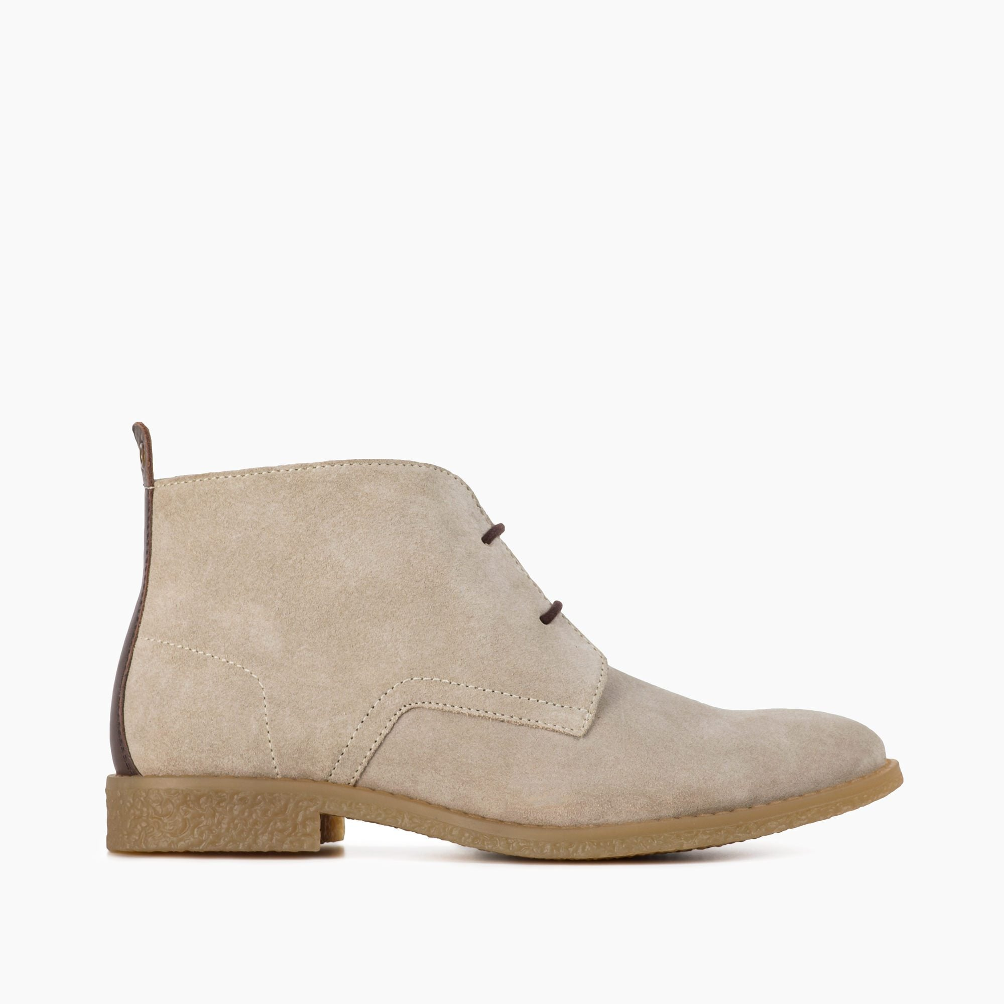 ISLA LIGHT TAN SUEDE CHUKKA BOOT